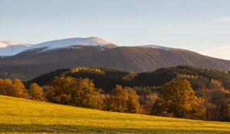 Glenfeshie hills, cairngorms national park, autumn-winter