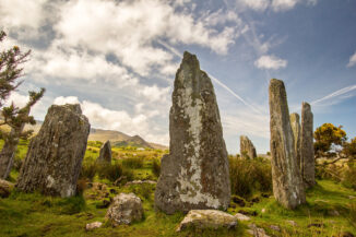stone circle, ardgroom, co kerry, ireland