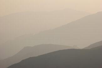 Distant ridges, Monadhliath mountains, Strathspey