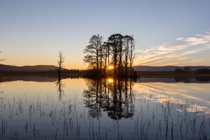 Sunset, Loch Mallachie