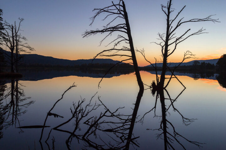 Sunset Reflections, Loch mallachie