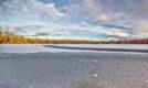 Frozen Loch Vaa, Strathspey, january