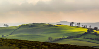 Loughcrew Hills, Co. Meath, Ireland