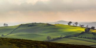 Loughcrew Hills, Co. Meath, Ireland