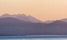 Kerry mountains dawn light from Beara Peninsula, Ireland